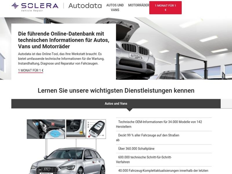 Screenshot von https://www.autodata-group.com/de/